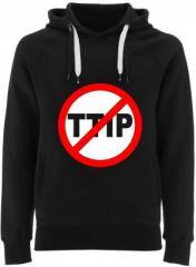 """Zum Fairtrade Pullover """"Stop TTIP"""" für 40,00 € gehen."""