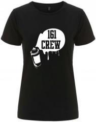 """Zum/zur  tailliertes Fairtrade T-Shirt """"161 Crew - Spraydose"""" für 18,00 € gehen."""