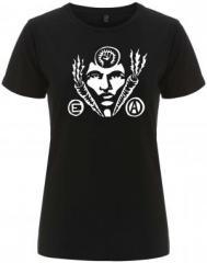 """Zum/zur  tailliertes Fairtrade T-Shirt """"Carrot Power"""" für 18,00 € gehen."""
