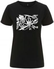 """Zum/zur  tailliertes Fairtrade T-Shirt """"clubbed"""" für 18,00 € gehen."""