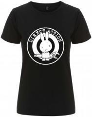 """Zum/zur  tailliertes Fairtrade T-Shirt """"Direct Action"""" für 18,00 € gehen."""