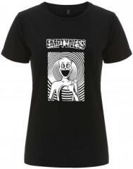 """Zum/zur  tailliertes Fairtrade T-Shirt """"Emptyness"""" für 17,55 € gehen."""