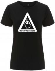 """Zum/zur  tailliertes Fairtrade T-Shirt """"Nationalstolz"""" für 18,00 € gehen."""