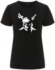 """Zum/zur  tailliertes Fairtrade T-Shirt """"Pirate"""" für 17,55 € gehen."""