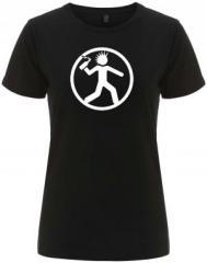 """Zum/zur  tailliertes Fairtrade T-Shirt """"Punker mit Molli"""" für 17,55 € gehen."""
