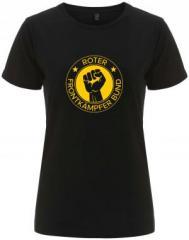 """Zum/zur  tailliertes Fairtrade T-Shirt """"Roter Frontkämpfer Bund"""" für 18,00 € gehen."""