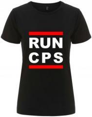"""Zum/zur  tailliertes Fairtrade T-Shirt """"RUN CPS"""" für 18,00 € gehen."""