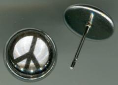 """Zum/zur  Ohrstecker """"Peacezeichen"""" für 4,39 € gehen."""