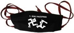 """Zur Mundmaske """"1. Mai Nazifrei"""" für 6,50 € gehen."""