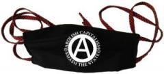 """Zur Mundmaske """"Abolish Capitalism - Smash The State"""" für 6,34 € gehen."""
