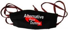 """Zur Mundmaske """"Alternative für Dumme"""" für 6,50 € gehen."""