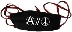 """Zur Mundmaske """"Anarchy and Peace"""" für 6,50 € gehen."""