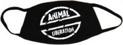"""Zur Mundmaske """"Animal Liberation"""" für 6,50 € gehen."""