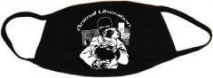 """Zur Mundmaske """"Animal Liberation (Hund)"""" für 6,50 € gehen."""