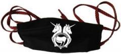 """Zur Mundmaske """"Antifa Einhorn Brigade"""" für 6,34 € gehen."""