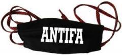 """Zur Mundmaske """"Antifa Schriftzug"""" für 6,50 € gehen."""