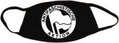 """Zur Mundmaske """"Antifaschistische Aktion (1932, weiß)"""" für 6,50 € gehen."""