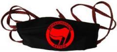"""Zur Mundmaske """"Antifaschistische Aktion (rot/rot)"""" für 6,34 € gehen."""
