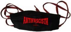 """Zur Mundmaske """"Antifascista siempre"""" für 6,50 € gehen."""