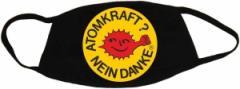 """Zur Mundmaske """"Atomkraft? Nein Danke - mit Faust"""" für 6,50 € gehen."""
