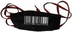 """Zur Mundmaske """"Barcode - Never conform"""" für 6,34 € gehen."""