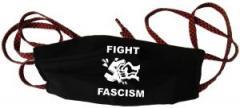 """Zur Mundmaske """"Fight Fascism"""" für 6,50 € gehen."""