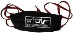 """Zur Mundmaske """"Freiheit - Wahrheit - Sicherheit"""" für 6,34 € gehen."""