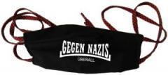 """Zur Mundmaske """"Gegen Nazis Überall"""" für 6,50 € gehen."""