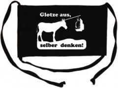 """Zur Mundmaske """"Glotze aus, selber denken!"""" für 6,34 € gehen."""