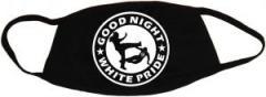 """Zur Mundmaske """"Good Night White Pride (dünner Rand)"""" für 6,50 € gehen."""