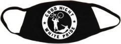 """Zur Mundmaske """"Good Night White Pride - Fahrrad"""" für 6,34 € gehen."""