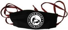 """Zur Mundmaske """"Good night white pride - Hockey"""" für 6,50 € gehen."""