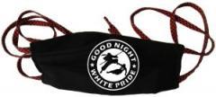 """Zur Mundmaske """"Good night white pride - Ninja"""" für 6,50 € gehen."""