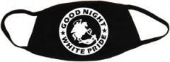 """Zur Mundmaske """"Good night white pride - Reiter"""" für 6,50 € gehen."""