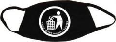 """Zur Mundmaske """"Halte Deine Umwelt sauber"""" für 6,50 € gehen."""
