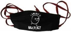 """Zur Mundmaske """"I am not a nugget"""" für 6,34 € gehen."""