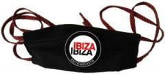 """Zur Mundmaske """"Ibiza Ibiza Antifascista (Schrift)"""" für 6,50 € gehen."""