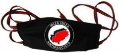 """Zur Mundmaske """"Ibiza Ibiza Antifascista"""" für 6,50 € gehen."""