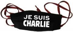 """Zur Mundmaske """"Je suis Charlie"""" für 6,50 € gehen."""