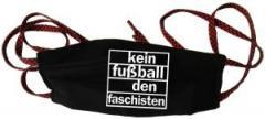 """Zur Mundmaske """"Kein Fußball den Faschisten"""" für 6,50 € gehen."""