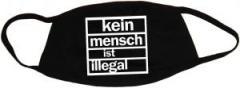 """Zur Mundmaske """"kein mensch ist illegal"""" für 6,50 € gehen."""