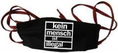 """Zur Mundmaske """"kein mensch ist illegal"""" für 6,34 € gehen."""