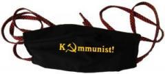 """Zur Mundmaske """"Kommunist!"""" für 6,50 € gehen."""