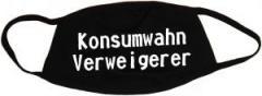 """Zur Mundmaske """"Konsumwahn Verweigerer"""" für 6,50 € gehen."""
