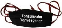 """Zur Mundmaske """"Konsumwahn Verweigerer"""" für 6,34 € gehen."""