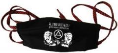 """Zur Mundmaske """"Libertad presos obreros!"""" für 6,50 € gehen."""