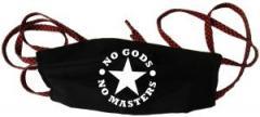 """Zur Mundmaske """"No Gods No Masters"""" für 6,34 € gehen."""