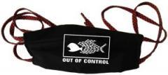 """Zur Mundmaske """"Out of Control"""" für 6,34 € gehen."""