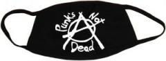"""Zur Mundmaske """"Punks not Dead (Anarchy)"""" für 6,50 € gehen."""