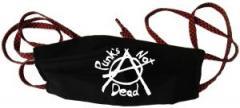 """Zur Mundmaske """"Punks not Dead (Anarchy)"""" für 6,34 € gehen."""
